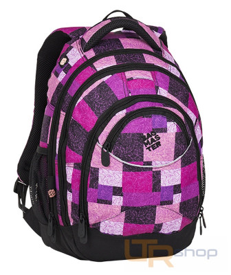 ENERGY 8 školní batoh Bagmaster D-Black-Pink-Violet 66d9d7b698