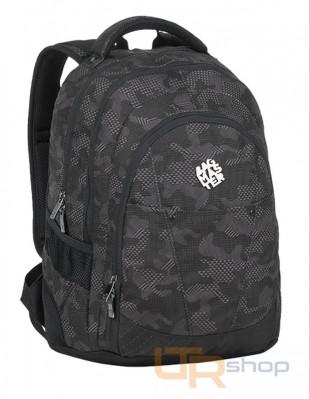 DIGITAL 9 studentský batoh Bagmaster F-Dark gray-Black 93c8bfbad1