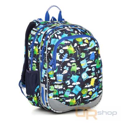 ELLY 18002 školní batoh Topgal B-Blue 70dfbd2043