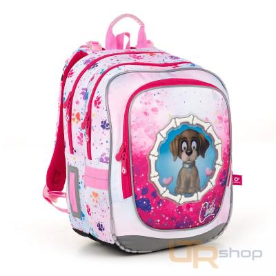 64f3b9ce182 ENDY 18017 školní batoh Topgal G-pink